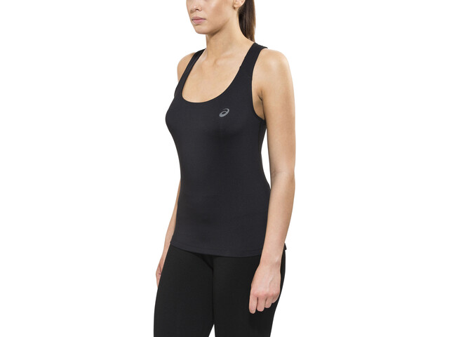 asics Fitted Tank Dam performance black